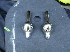 1953 Willy's Front Bumper Guards Left and Right