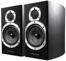 WHARFEDALE Diamond 10.1 Bookshelf Speakers Blackwood-garantie 1 ans RRP £ 199.95