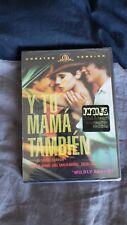 Y Tu Mama Tambien (Dvd, Ws/Fs 2002) Gael Garcia Bernal, Diego Luna New