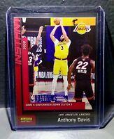 Anthony Davis 2020 Panini LA Lakers NBA Champions #24 Basketball Card