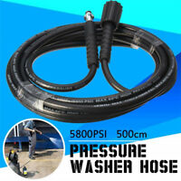 5800psi High Pressure Washer Drain Cleaning Water Hose Cleaner for