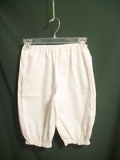 GIRL'S-sz 8- ORPHAN ANNIE COSTUME BLOOMERS /DANCE- & OTHER CHARACTER PLAYS