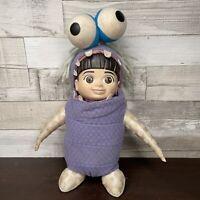 Disney Pixar Monsters Inc Talking Boo Doll Hasbro 2000 Vintage Rare Plush Toy