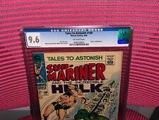 Tales to Astonish #100 CGC 9.6 Hulk vs. Sub-Mariner