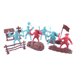 Plastic Toy Pirates Model Action Figures Kids Toy Home Miniature Game