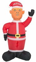 4Ft Airblown Inflatable Christmas Santa Donald Trump Decor Lawn Yard Outdoor
