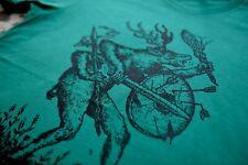 Stardust Creature T-shirt L Green | LP SOULFLY SEPULTURA SLAYER KATARSIS DRUDKH