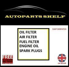 Peugeot 208 1.0 1.2 OIL AIR FUEL FILTER 5W30 OIL SERVICE KIT SPARK PLUGS