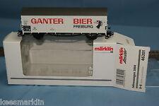 Marklin 46201 DB Insider Year car 2004  GANTER BIER FREIBURG