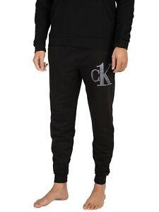 Calvin Klein Men's Lounge Graphic Joggers, Black