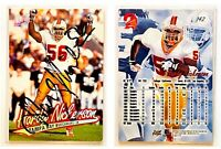 Hardy Nickerson Signed 1997 Ultra #142 Card Tampa Bay Buccaneers Auto Autograph
