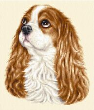 BLENHEIM CAVALIER KING CHARLES SPANIEL ~ Complete counted cross stitch kit