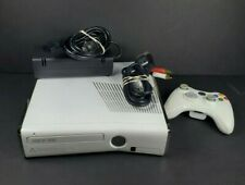 Xbox 360 Slim 4GB White Model 1439 Bundle With Controller