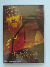 WWE Judgment Day 2002 DVD BRAND NEW RARE AUS RELEASE