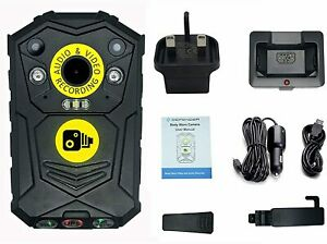 Professional Personal Body Cam Camera 32GB Bailiff Protection Security SIA Kit