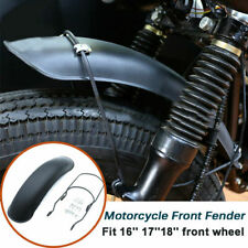 Motorbike Retro Metal Front Fender Protector Mudguard Cover For 16-18'' Wheel