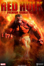 HULK EXCLUSIVE RED VERSION PREMIUM FORMAT VERSION STATUE SIDESHOW