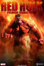 HULK EXCLUSIVE RED VERSION PREMIUM FORMAT VERSION STATUE SIDESHOW