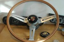 "15.5"" PORSCHE 356 B/C  904   > ORIGINAL steering wheel Les leston"