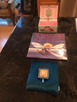 TOOTH FAIRY PILLOW TOOTH HOLDER ,FAIRY MUSIC BOX & TOOTH FAIRY BOOK NEW NICE LOT