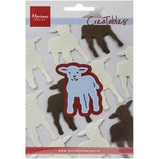 "Marianne Design Creatables Dies ~ Little lamb, 1 1/2"" x 1 7/8""  LR0358 ~ NIP"