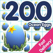 Bundle of 200 Ocean Eggs   Roblox Adopt Me!
