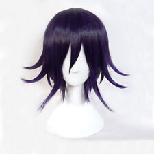 Game New Danganronpa V3: Killing Harmony Ouma Kokichi Short Purple Ombre Wig