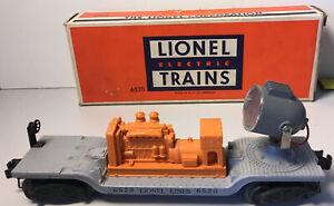 Lionel Searchlight car, model 6520