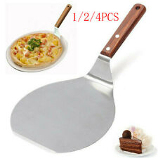 Stainless Steel Pizza Peel Shovel Spatula Cake Lifter Paddle Baking Tray