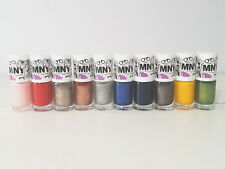 Maybelline MNY & Color Show Nail Polish Assorted
