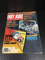 Vintage Hot Rod September 1976 Magazine Custom Vans Color Dragster Centerfold