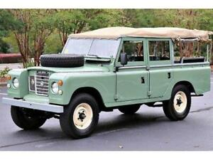 1974(M) Land Rover Series 3 109 SW Soft Top FULL ELECTRIC