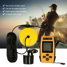 Portable Visual Ultrasonic Wired Fish Finder Detector Outdoor Fishing Fishfinder