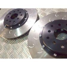 "Subaru Impreza Sti Brembo Type 2 Piece Brake Discs 326mm Godspeed 01>18 ""G hook"""