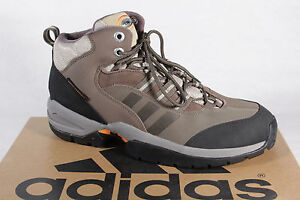 Adidas Boots Ridgecone Hiking Boots Climaproof Braun / Black New