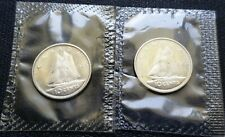 1965 & 1966 Canada Silver 10 Cent Dimes - Proof Like, SEALED - Mint Condition