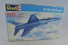 1988 Revell F-16 Falcon Micro Fighter 1:144 Scale Model Aircraft