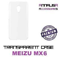 COVER TRASPARENTE PER MEIZU MX6 CUSTODIA PROTEZIONE MORBIDA SILICONE CASE MX 6