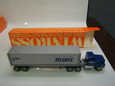 Winross Lewis Truck Lines, Inc  tractor trailer flatbed Load NWO w/ box