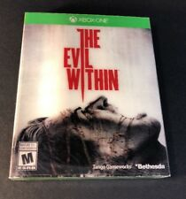 The Evil Within [ First Print W/ Cardboard Sleeve ] (XBOX ONE) NEW