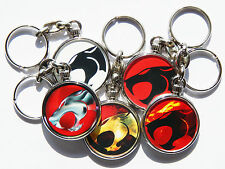 Chrome Cartoons & Characters Circle Collectable Keyrings