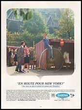 Publicité SABENA Grand Bi Velo Aviation Cie Aerienne Airlines vintage ad 1967 3j
