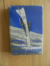 Sound Barrier First Edition Book handsigned by Nevill Duke WW2 Ace & test pilot