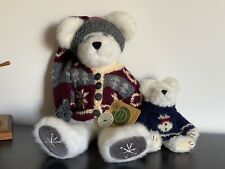 Boyds Bears Freezy T. Frostman & Tomba Bearsky 20th Anniversary Collection