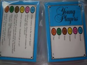 TRIVIAL PURSUIT YOUNG PLAYERS  edition travel/ party/ wedding favors /quiz