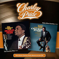 THE COUNTRY WAY + MAKE MINE COUNTRY - Charley Pride - Reissue CD (Charlie Pride)
