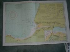 VINTAGE IMRAY CHART Y70 - FRANCE - ENTRANCE TO THE RIVER SEINE1972 Edition