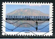 TIMBRE FRANCE  AUTOADHESIF OBLITERE N° 1364 / ANNEE DU TOURISME / TANZANIE