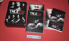 TRUE BLOOD L'INTEGRALE DES SAISONS 1 & ET 2 + LIVRE COFFRET 10 DVD COMPLET VF VO