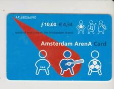 Amsterdam Arena Card 2001 Applaud your stars at the Amsterdam ArenA AA1860066990